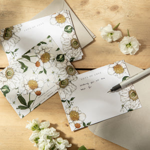 Spring Blossom - Pack of 6 Notecards