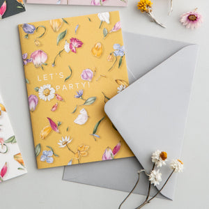 Petal Confetti 'Let's Party!' Card