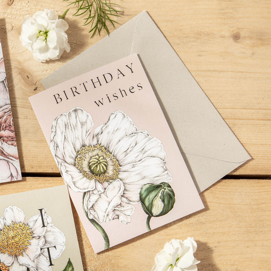 Spring Blossom 'Birthday Wishes' Card