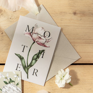 Spring Blossom 'MOTHER' Card