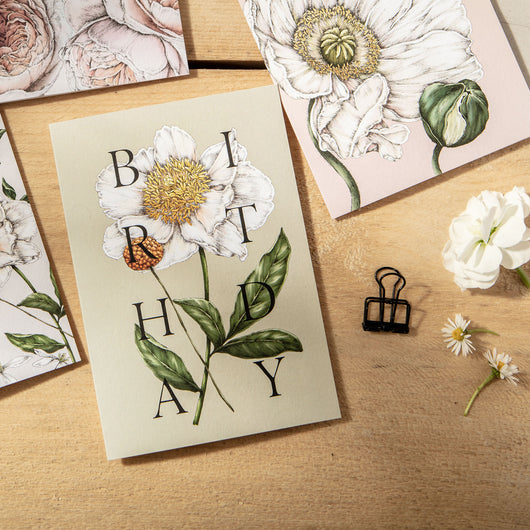 Spring Blossom 'BIRTHDAY' Card