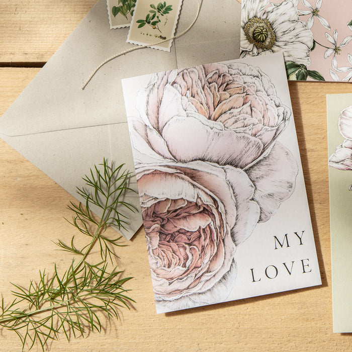 Spring Blossom 'My Love' Card