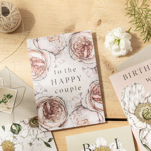 Spring Blossom 'To The Happy Couple' Card