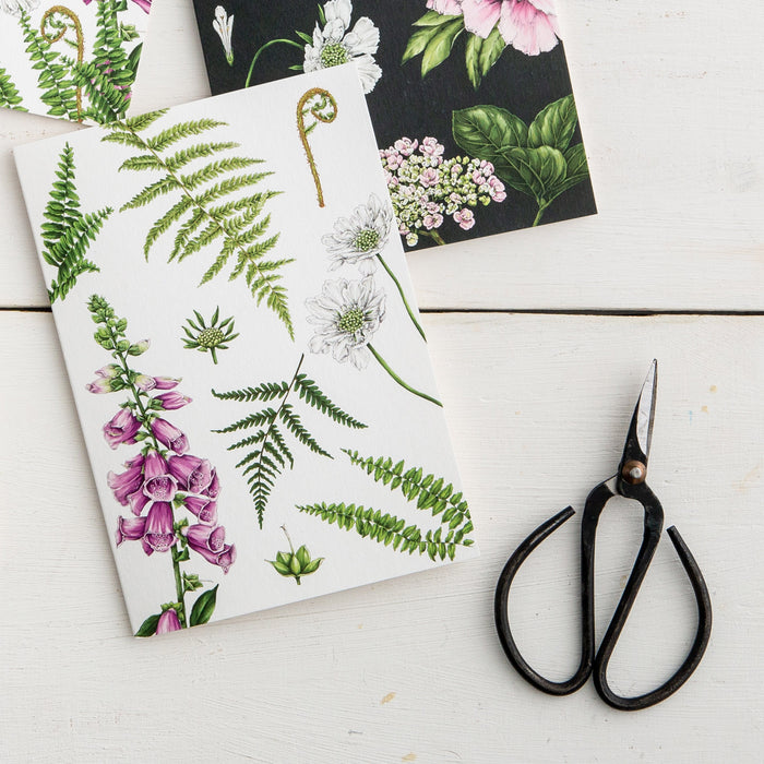 Summer Garden 'Foxglove & Ferns' Card