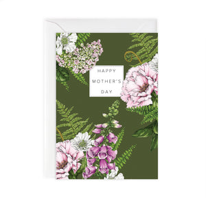 Summer Garden 'Happy Mother's Day' Card