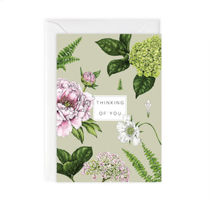 Summer Garden 'Thinking of You' Card