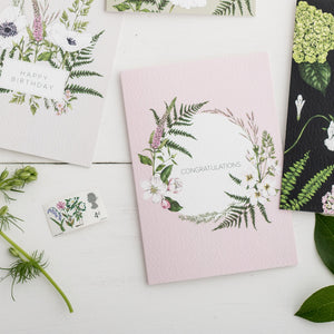 Wild Meadow 'Congratulations' Card