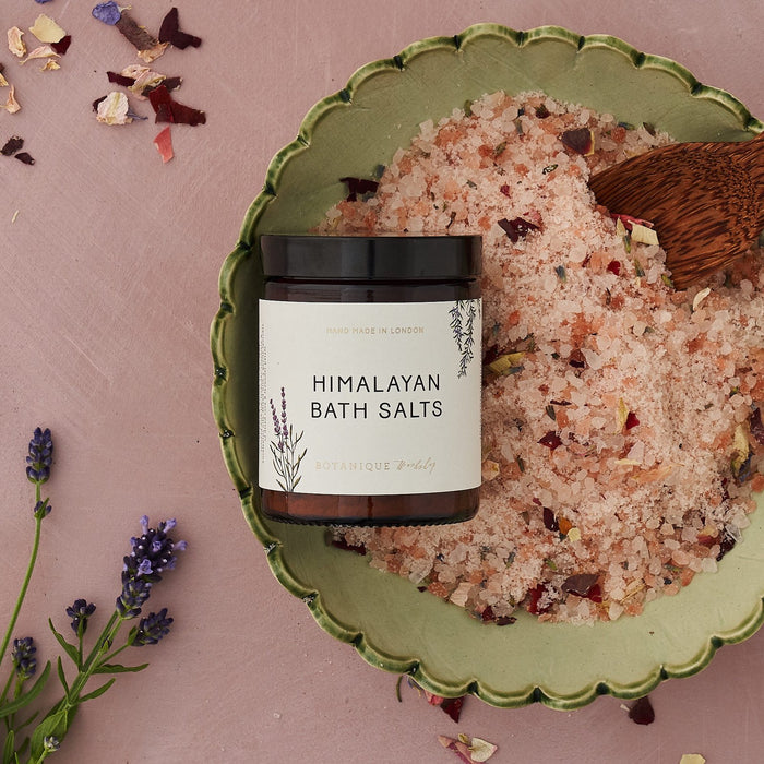 Himalayan Bath Salts & Card - Gift Set