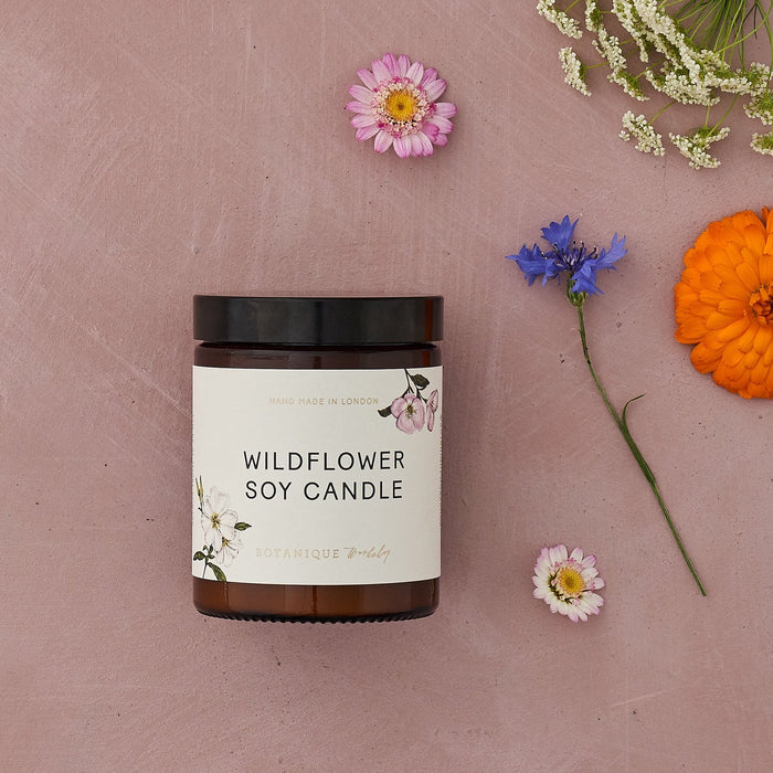 Wildflower Botanical Soy Candle