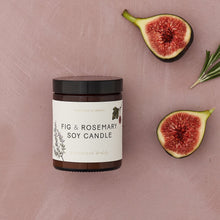 Load image into Gallery viewer, Fig & Rosemary Soy Candle