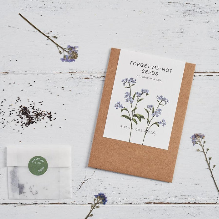 Forget-me-not Seeds & Card - Gift Set