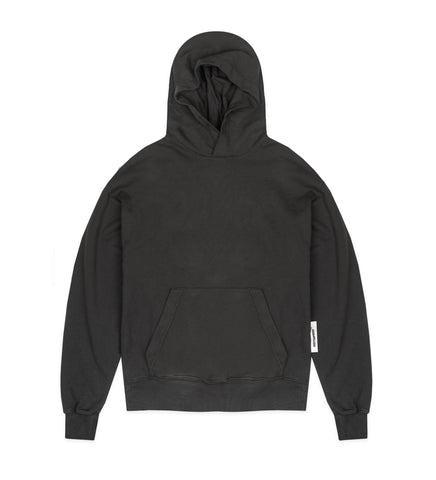 ORGANIC MACHINERY HOODED SWEATSHIRT ANTHRACITE GREY