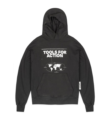TOOLS FOR ACTION HOODED SWEATSHIRT ANTHRACITE GREY