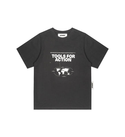 TOOLS FOR ACTION T-SHIRT ANTHRACITE GREY