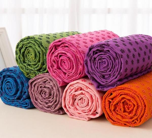 Couverture de Yoga absorbante et facile à nettoyer