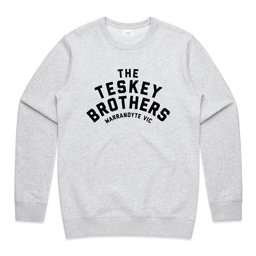 Logo Womens Crewneck (Grey Marle)