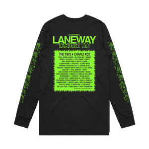 2020 Lineup Long Sleeve (Green/Black)