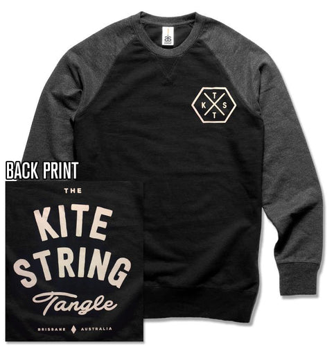 The Kite String Tangle Official Merch - Hex (Contrast Crew)