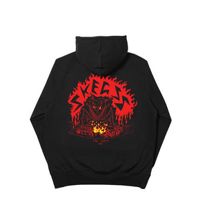 BLACK CAR CRASH HOODIE