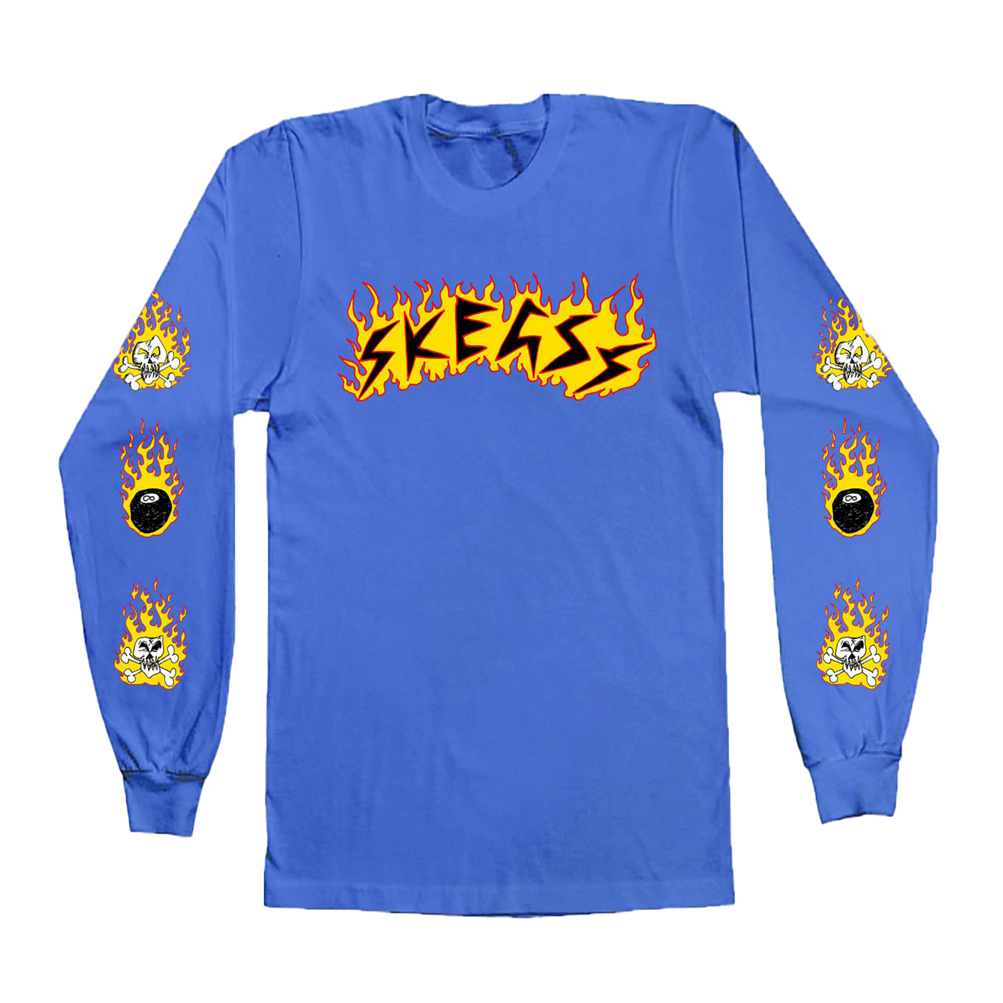 Flameball Blue Longsleeve