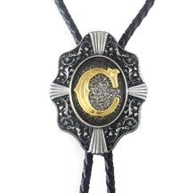 Load image into Gallery viewer, GOLDEN C BOLO TIE // PREORDER