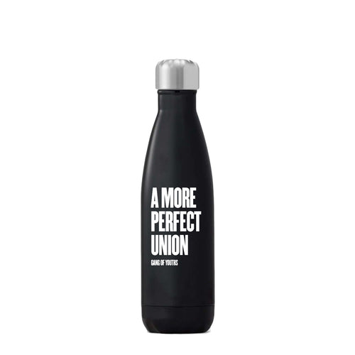Black A More Perfect Union Water Bottle
