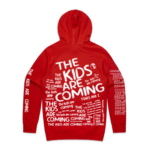 Red All Over Hoodie // PREORDER