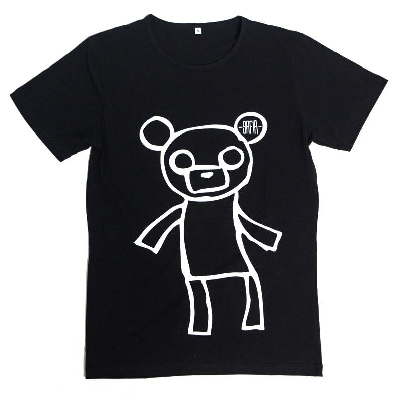 Teddy Bear Tee (Black)