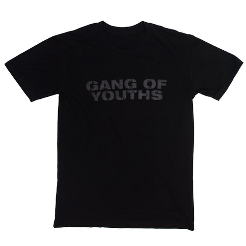 Black Flock Logo Tee