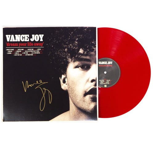 "(Signed Limited Edition 12"" Red Vinyl) Dream Your Life Away"