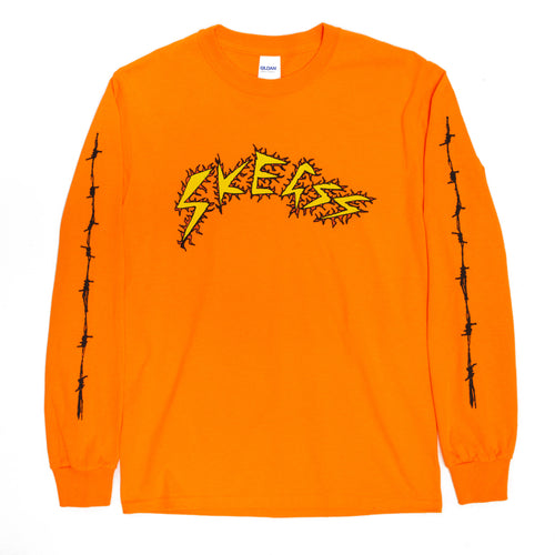 BARBED WIRE ORANGE LONG SLEEVE