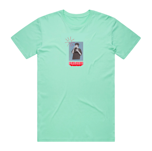 Sunbeam Tee (Aqua)