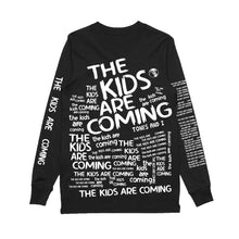 Load image into Gallery viewer, The Kids Are Coming All Over Print Long Sleeve (Black)