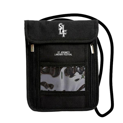 Festival Neck Pouch (Black)