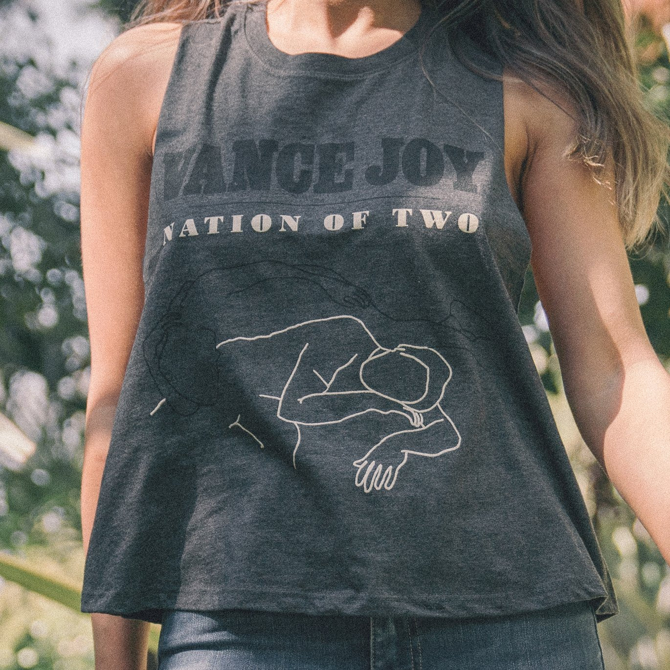 Nation of Two Sleeveless (Grey)