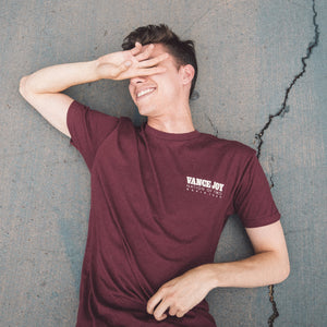 Nation Of Two Tour Tee (Maroon)