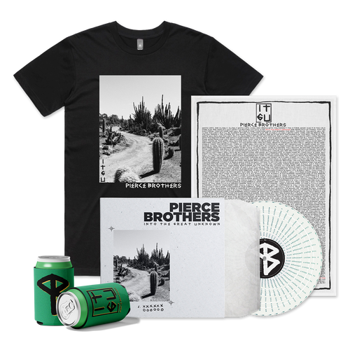 Into The Great Unknown Vinyl + Merch Bundle