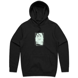 Anime Hoodie (Black with Glow In The Dark Print)