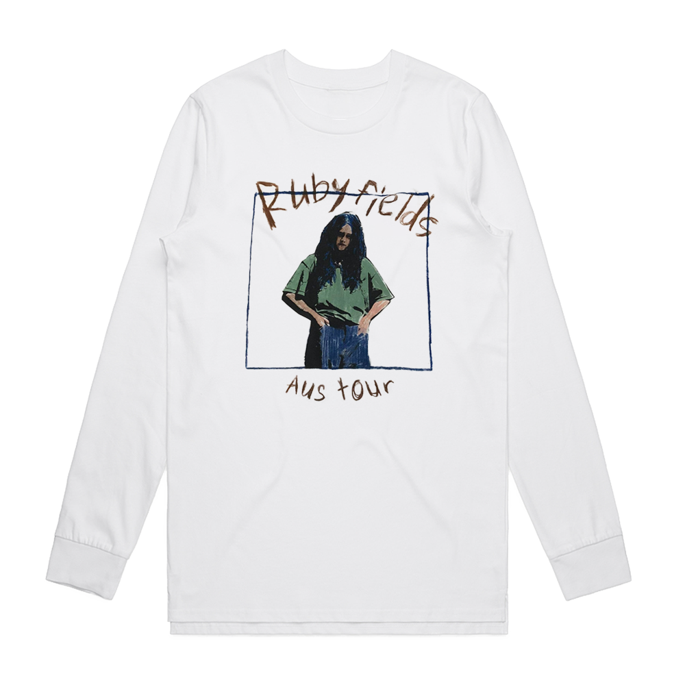 2019 Tour White Longsleeve