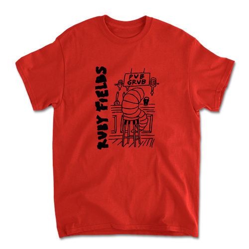 Pub Grub Tee (Red)