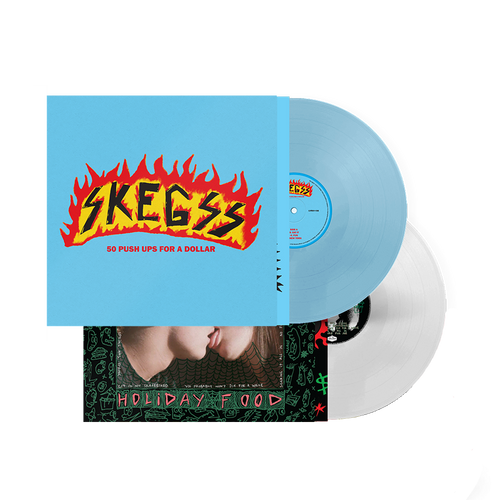 50 Push Ups + Holiday Food/EIGAS Vinyl Bundle