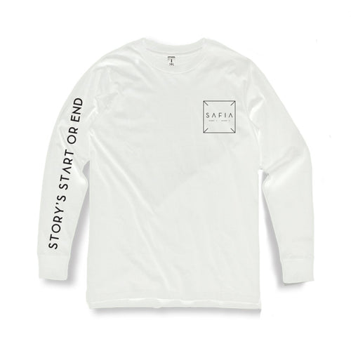 Story's Start Long Sleeve (White)