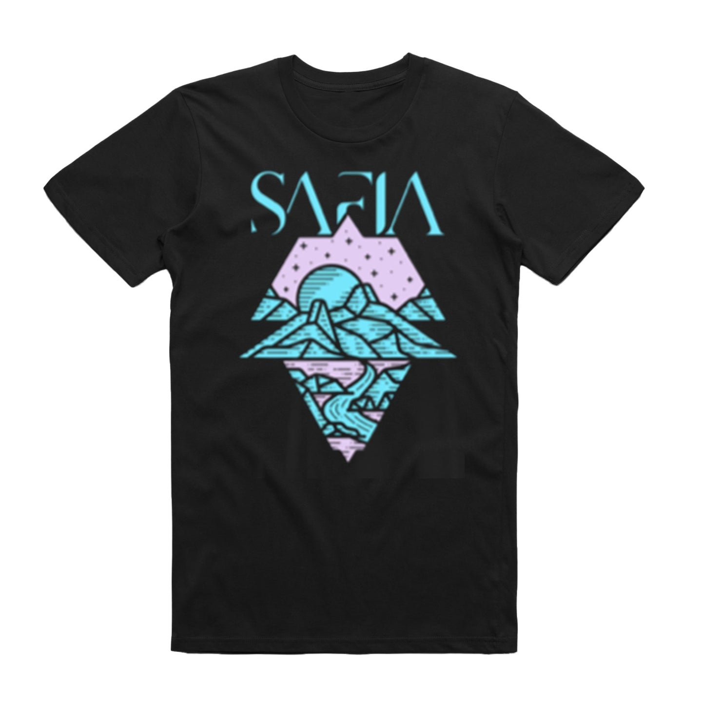 Mountains Tee (Black)