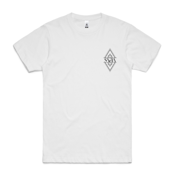Diamond Pocket Tee (White)