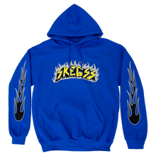 Load image into Gallery viewer, Blue Flame Hoodie