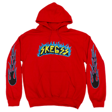 Load image into Gallery viewer, Red Flame Hoodie
