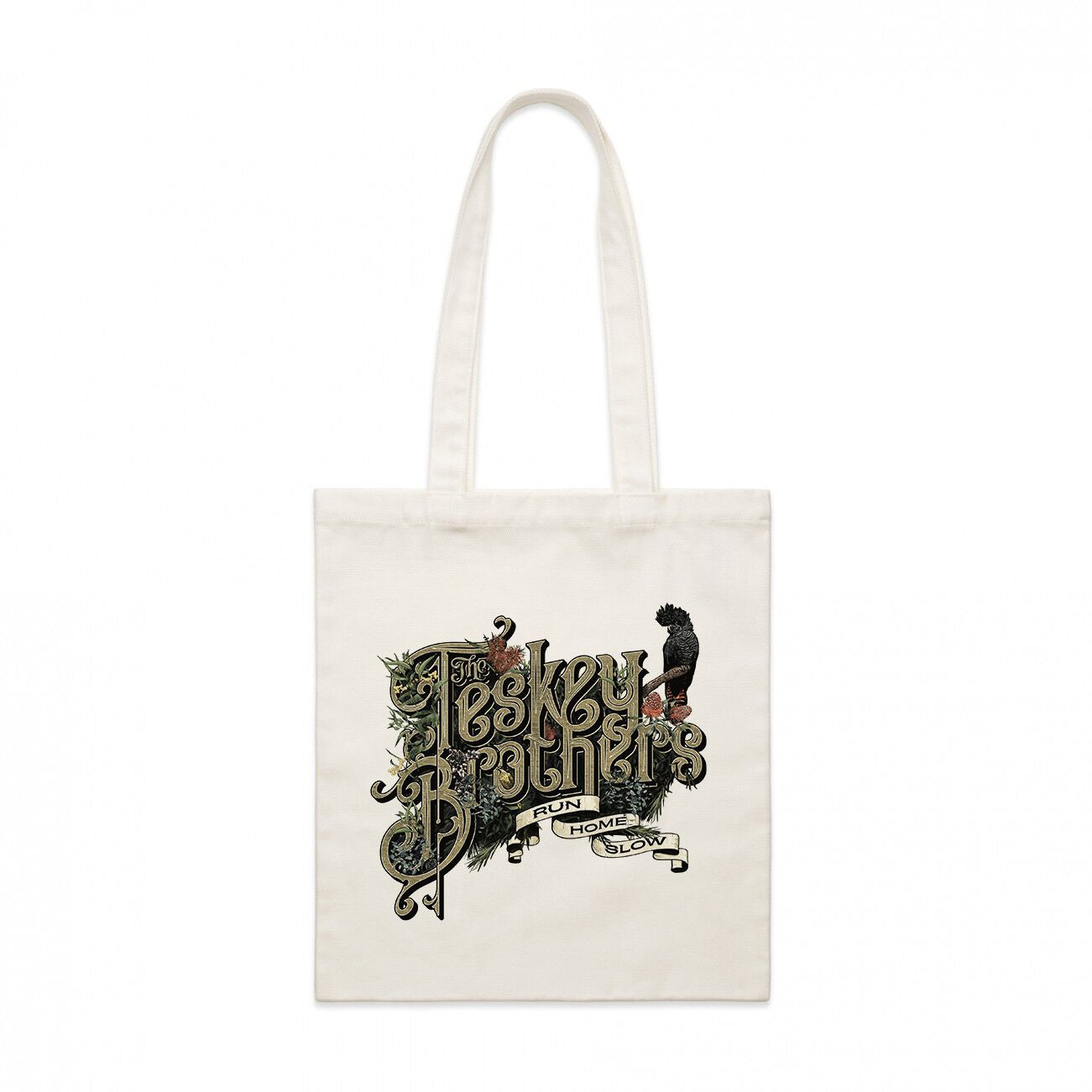 Run Home Slow Tote (Natural)