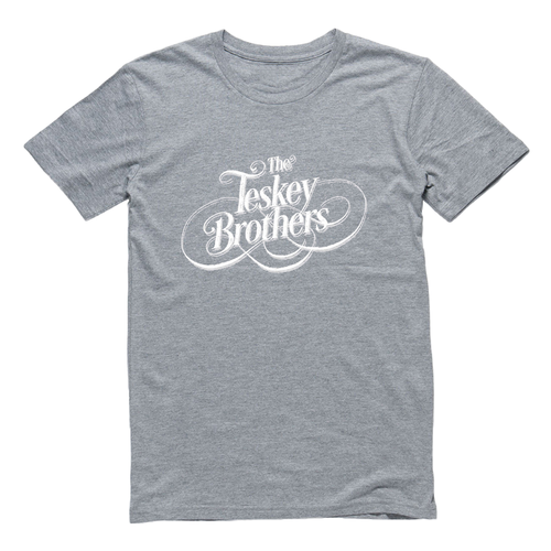 The Teskey Brothers Logo Tee (Grey Marle)