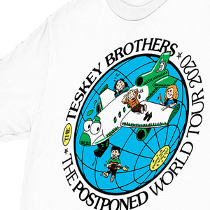 Postponed World Tour Tee (White) // PREORDER