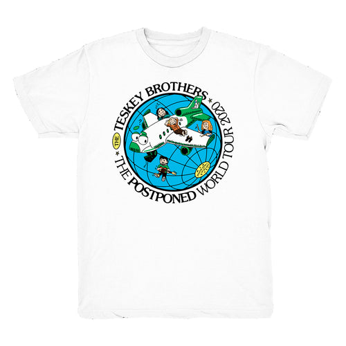 Postponed World Tour Tee (White)